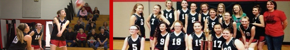 MS Girls Volleyball-Athletics